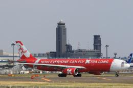 inyoさんが、成田国際空港で撮影したタイ・エアアジア・エックス A330-343Eの航空フォト(飛行機 写真・画像)