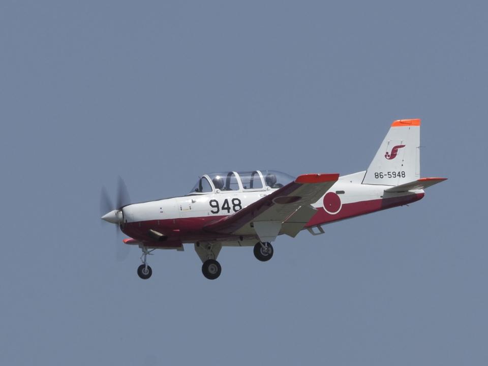 違いがわかる男さんの航空自衛隊 Fuji T-7 (86-5948) 航空フォト