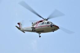 ヘリオスさんが、東京ヘリポートで撮影した朝日航洋 S-76Dの航空フォト(飛行機 写真・画像)