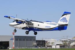 キイロイトリさんが、八尾空港で撮影した第一航空 DHC-6-400 Twin Otterの航空フォト(飛行機 写真・画像)