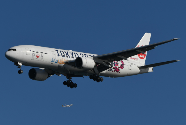 航空フォト:JA773J 日本航空 777-200
