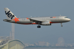 Deepさんが、関西国際空港で撮影したジェットスター・アジア A320-232の航空フォト(飛行機 写真・画像)