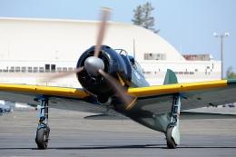 wetwingさんが、サクラメント・マザー空港で撮影したCommemorative Air Force Zero 52/A6M5の航空フォト(飛行機 写真・画像)