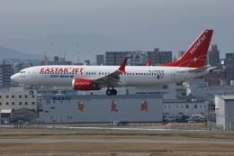 磐城さんが、福岡空港で撮影したイースター航空 737-8-MAXの航空フォト(飛行機 写真・画像)