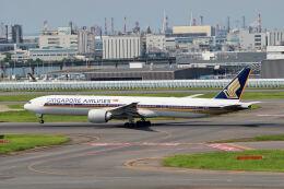 やまモンさんが、羽田空港で撮影したシンガポール航空 777-312/ERの航空フォト(飛行機 写真・画像)