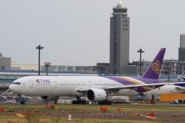 Hiro-hiroさんが、成田国際空港で撮影したタイ国際航空 777-3D7/ERの航空フォト(飛行機 写真・画像)