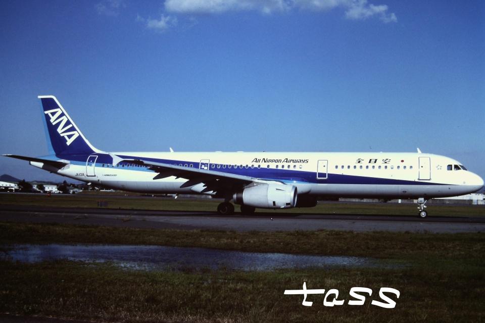 tassさんの全日空 Airbus A321 (JA101A) 航空フォト