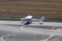 kazucamさんが、広島空港で撮影した崇城大学 172S Skyhawk SPの航空フォト(飛行機 写真・画像)