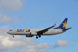 Qualiflyerさんが、福岡空港で撮影したスカイマーク 737-8FZの航空フォト(飛行機 写真・画像)