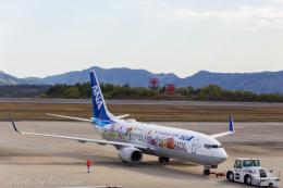 kazucamさんが、広島空港で撮影した全日空 737-881の航空フォト(飛行機 写真・画像)