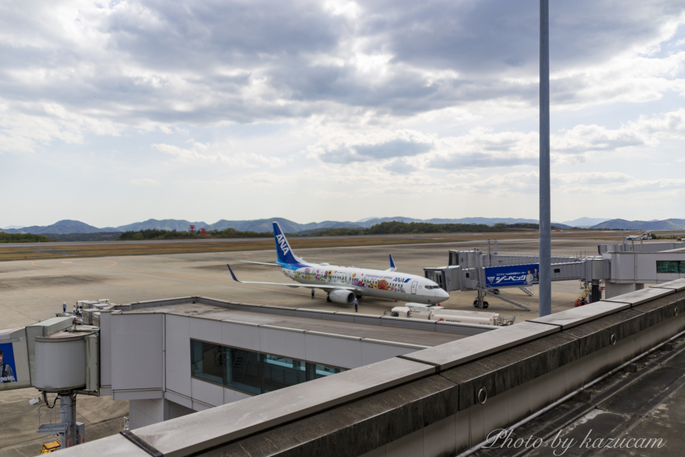 kazucamさんの全日空 Boeing 737-800 (JA85AN) 航空フォト