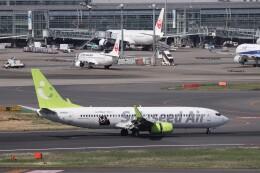 KAZFLYERさんが、羽田空港で撮影したソラシド エア 737-86Nの航空フォト(飛行機 写真・画像)