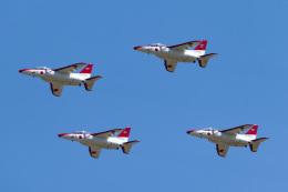 こぐともさんが、防府北基地で撮影した航空自衛隊 T-4の航空フォト(飛行機 写真・画像)