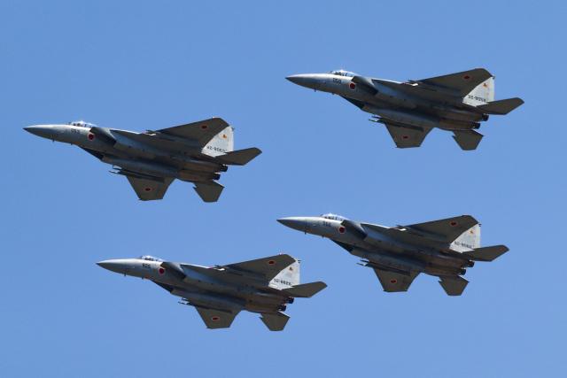 こぐともさんが、防府北基地で撮影した航空自衛隊 F-15DJ Eagleの航空フォト(飛行機 写真・画像)