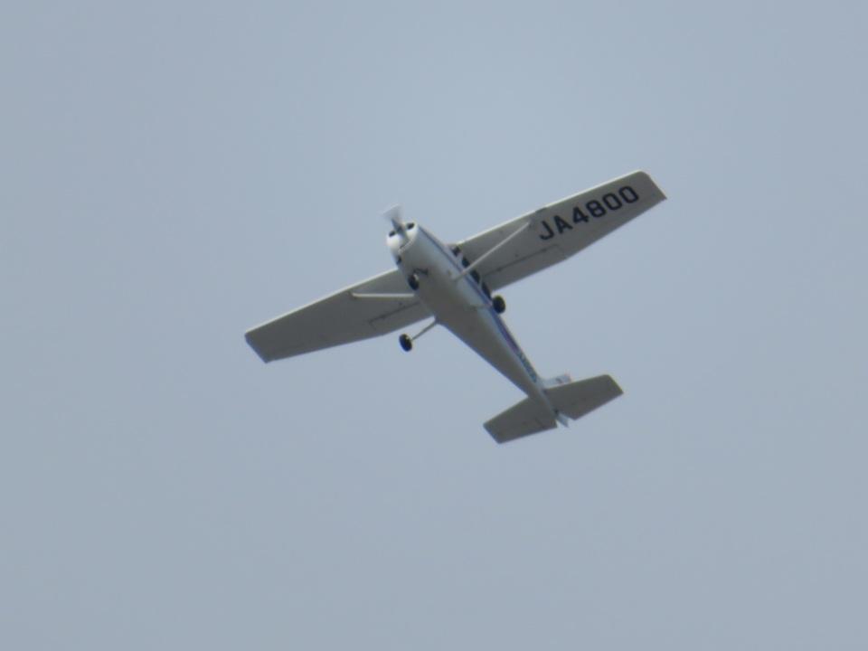 チダ.ニックさんの日本モーターグライダークラブ Cessna 172 (JA4800) 航空フォト