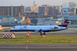 Rsaさんが、福岡空港で撮影したアイベックスエアラインズ CL-600-2C10 Regional Jet CRJ-702の航空フォト(飛行機 写真・画像)