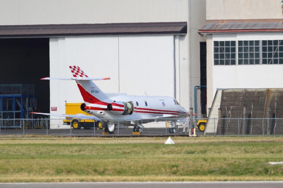 レガシィさんの航空自衛隊 British Aerospace BAe-125/HS-125 (C-29) (29-3041) 航空フォト