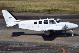 jun☆さんが、名古屋飛行場で撮影した朝日航空 G58 Baronの航空フォト(飛行機 写真・画像)