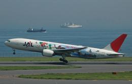 チャーリーマイクさんが、羽田空港で撮影した日本航空 777-289の航空フォト(飛行機 写真・画像)