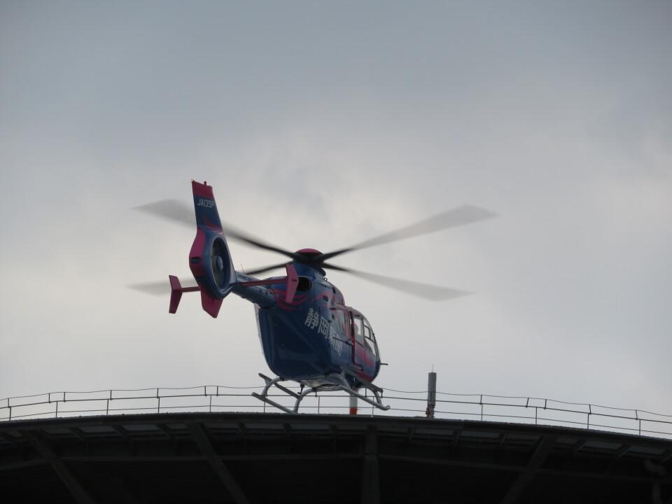 ランチパッドさんの静岡エアコミュータ Eurocopter EC135/635 (JA135P) 航空フォト