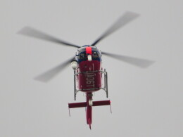 ランチパッドさんが、静岡ヘリポートで撮影した静岡エアコミュータ EC135P2+の航空フォト(飛行機 写真・画像)