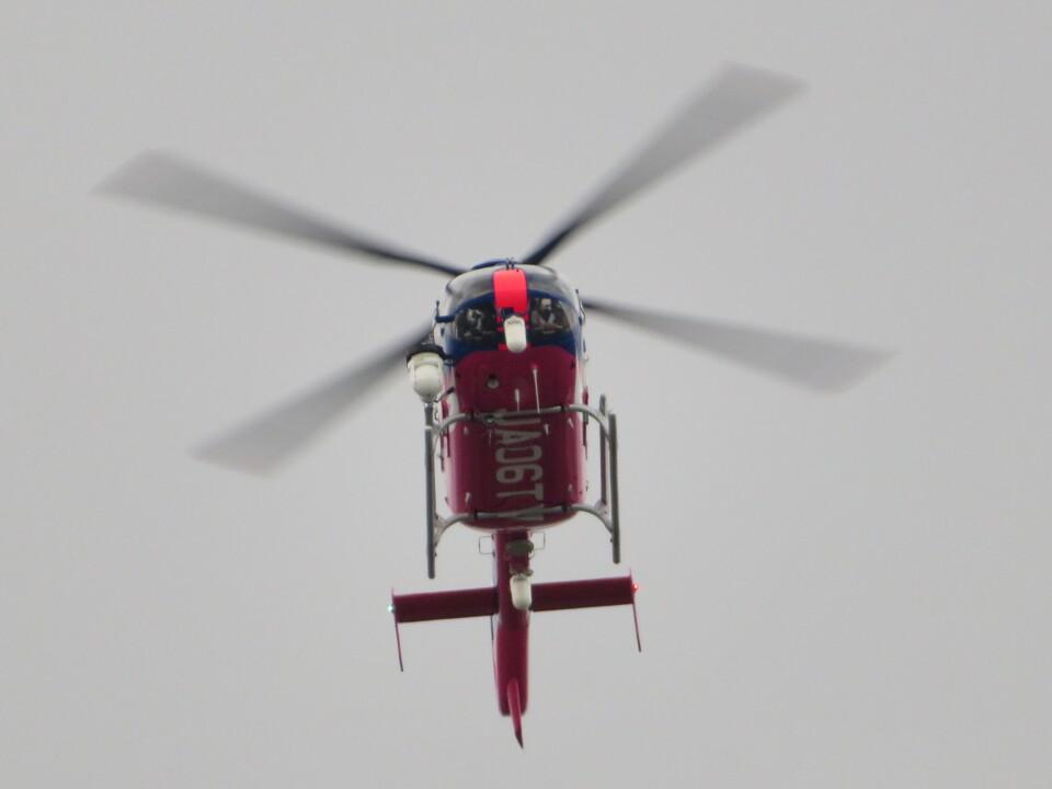 ランチパッドさんの静岡エアコミュータ Eurocopter EC135/635 (JA06TV) 航空フォト