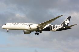 banshee02さんが、成田国際空港で撮影したニュージーランド航空 787-9の航空フォト(飛行機 写真・画像)