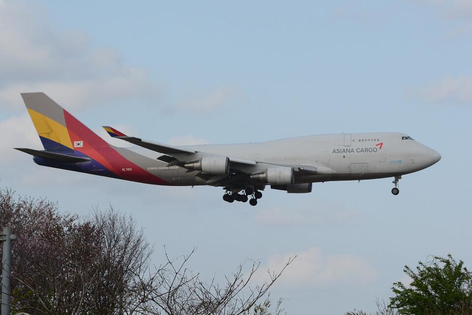 banshee02さんのアシアナ航空 Boeing 747-400 (HL7413) 航空フォト