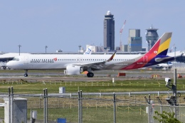 Timothyさんが、成田国際空港で撮影したアシアナ航空 A321-251NXの航空フォト(飛行機 写真・画像)