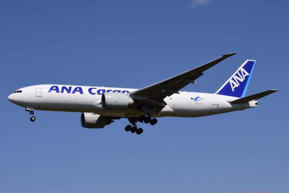 Timothyさんの全日空 Boeing 777-200 (JA772F) 航空フォト