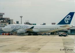 リゾッチャ(紫)さんが、伊丹空港で撮影したニュージーランド航空 747-419の航空フォト(飛行機 写真・画像)