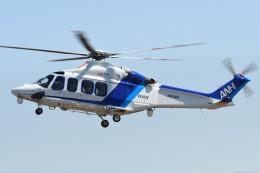 ほてるやんきーさんが、名古屋飛行場で撮影したオールニッポンヘリコプター AW139の航空フォト(飛行機 写真・画像)