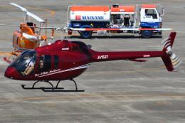 ほてるやんきーさんが、名古屋飛行場で撮影した日本法人所有 505 Jet Ranger Xの航空フォト(飛行機 写真・画像)