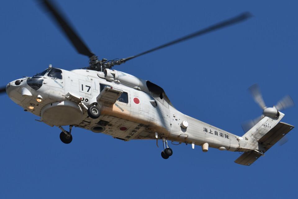 ほてるやんきーさんの海上自衛隊 Mitsubishi SH-60K (8417) 航空フォト