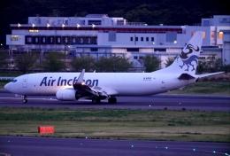 SFJ_capさんが、成田国際空港で撮影したエア・インチョン 737-86J/SFの航空フォト(飛行機 写真・画像)