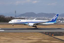 神宮寺ももさんが、高松空港で撮影した全日空 787-9の航空フォト(飛行機 写真・画像)