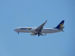 commet7575さんが、福岡空港で撮影したスカイマーク 737-8FZの航空フォト(飛行機 写真・画像)