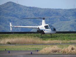 F.YUKIHIDEさんが、岡南飛行場で撮影した日本法人所有 R22 Beta IIの航空フォト(飛行機 写真・画像)