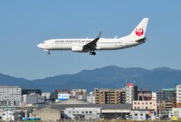 mojioさんが、福岡空港で撮影した日本トランスオーシャン航空 737-8Q3の航空フォト(飛行機 写真・画像)