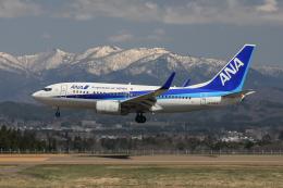 西風さんが、大館能代空港で撮影した全日空 737-781の航空フォト(飛行機 写真・画像)