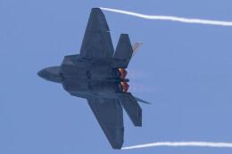 Koenig117さんが、岩国空港で撮影したアメリカ空軍 F-22A-20-LM Raptorの航空フォト(飛行機 写真・画像)