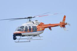 パンダさんが、成田国際空港で撮影した新日本ヘリコプター 407の航空フォト(飛行機 写真・画像)