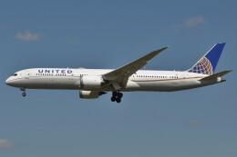 Flying A340さんが、成田国際空港で撮影したユナイテッド航空 787-9の航空フォト(飛行機 写真・画像)