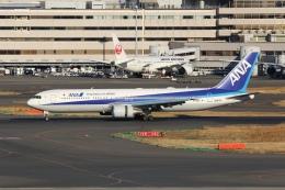 OS52さんが、羽田空港で撮影した全日空 767-381/ERの航空フォト(飛行機 写真・画像)