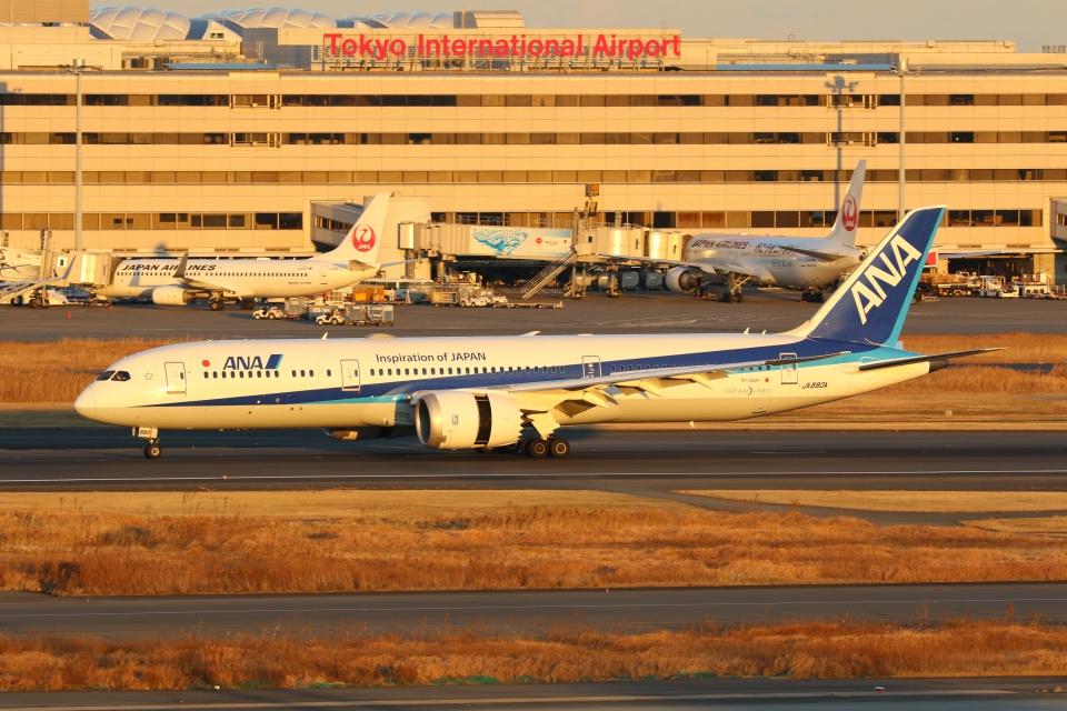 OS52さんの全日空 Boeing 787-9 (JA880A) 航空フォト