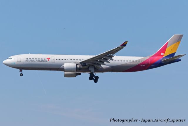 いおりさんが、福岡空港で撮影したアシアナ航空 A330-323Xの航空フォト(飛行機 写真・画像)