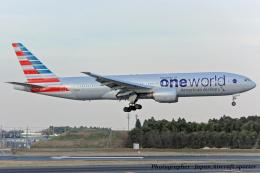 いおりさんが、成田国際空港で撮影したアメリカン航空 777-223/ERの航空フォト(飛行機 写真・画像)