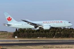いおりさんが、成田国際空港で撮影したエア・カナダ 787-8 Dreamlinerの航空フォト(飛行機 写真・画像)