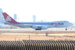 OS52さんが、成田国際空港で撮影したカーゴルクス 747-8R7F/SCDの航空フォト(飛行機 写真・画像)
