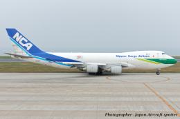いおりさんが、北九州空港で撮影した日本貨物航空 747-481F/SCDの航空フォト(飛行機 写真・画像)